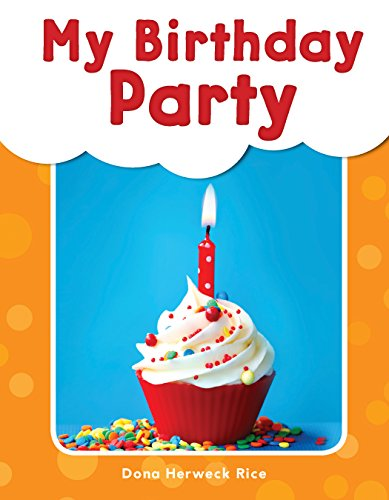 My Birthday Party - Phonics Book for Beginning Readers, Teaches High-Frequency Sight -