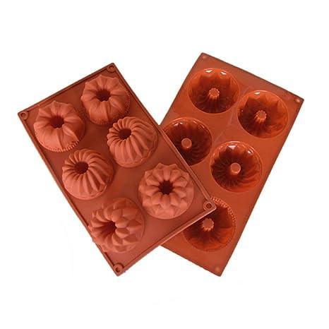 silconce molde, Didadi alimentos grado silicona antiadherente Cake Pan Mold para de acción de gracias