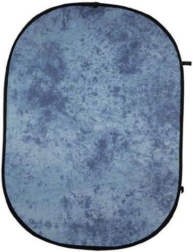 Walimex Falthintergrund Blau Batik Kamera