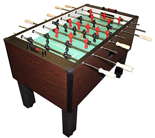 Gold Standard Games Home Pro Foosball Table (Mahogany (Chrome Rods-Wood Handles)) (Foosball Table Mahogany)