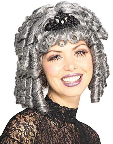 Rubie's Costume 18Th Century Lady Wig, Grey, One (Eighteenth Century Halloween Costumes)