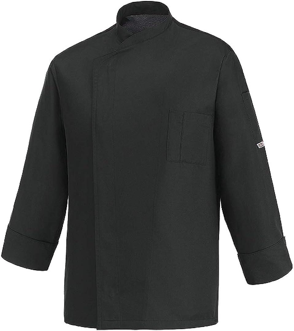 Giacca Cuoco Manica Lunga 100/% Microfibra EGOCHEF