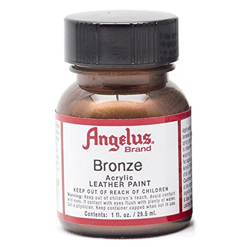 Angelus Leather Paint 1 Oz Bronze