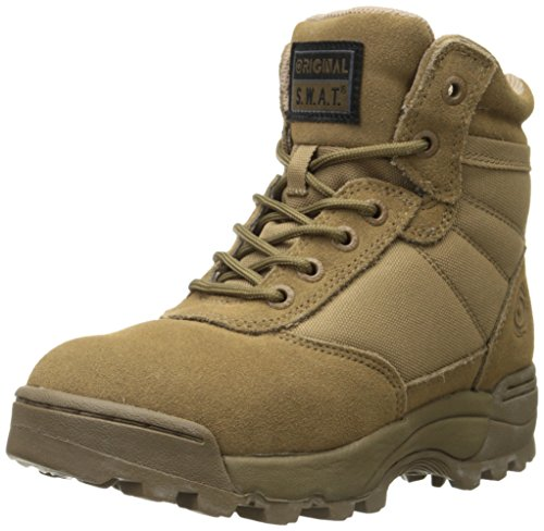 Coyote Suede Boot - Original S.W.A.T. Men's Classic 6 Inch Tactical Boot, Coyote, 7.5 D US