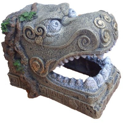 (BLUE RIBBON PET Products EE-5646 Exotic Environments Serpent Head Tomb)
