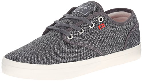 Tweed Motley Globe Men's Skate Red Black Shoe CAZRwOq