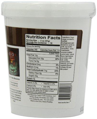 Fondarific Chocolate Fondant Brown, 2-Pounds by Fondarific (Image #9)'