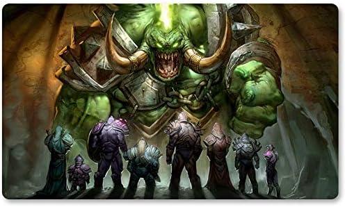 Warcraft44 – Juego de mesa de Warcraft tapete de mesa Wow juegos teclado Pad Tamaño 60 x 35 cm World of Warcraft Mousepad para Yugioh Pokemon MTG o TCG: Amazon.es: Oficina y papelería
