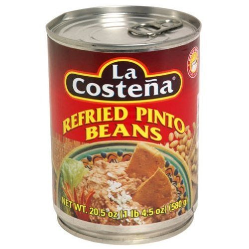 La Costena, Bean Refried Pinto, 20.5-Ounce (12 Pack) ( Value Bulk Multi-pack) by La Costena