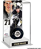 Evgeni Malkin Pittsburgh Penguins Autographed Puck with Deluxe Tall Hockey Puck Case - Frameworth - Fanatics Authentic Certified