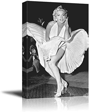 Portrait of Marilyn Monroe Inspirational Famous People Series