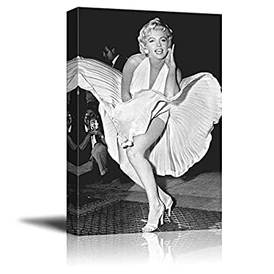 Portrait of Marilyn Monroe Inspirational Famous People Series 24