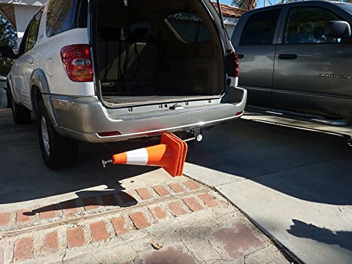 2'' Trailer Hitch Mounted Receiver Safety Cone Holder for Work Trucks, Vans by Innovative Logistics Products (Image #3)
