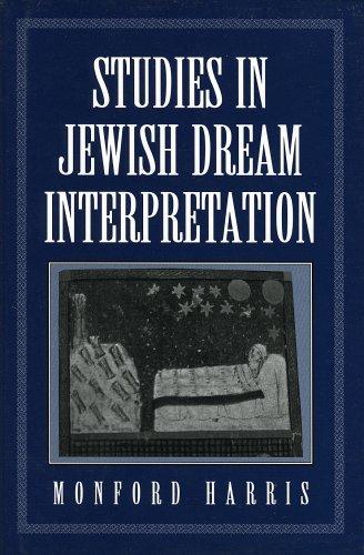 Studies in Jewish Dream Interpretation by Brand: Jason Aronson, Inc.