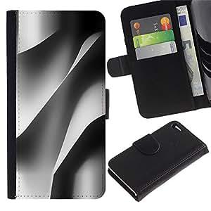 For Apple iPhone 4 / iPhone 4S,S-type® Building Architecture Paper Engineering - Dibujo PU billetera de cuero Funda Case Caso de la piel de la bolsa protectora