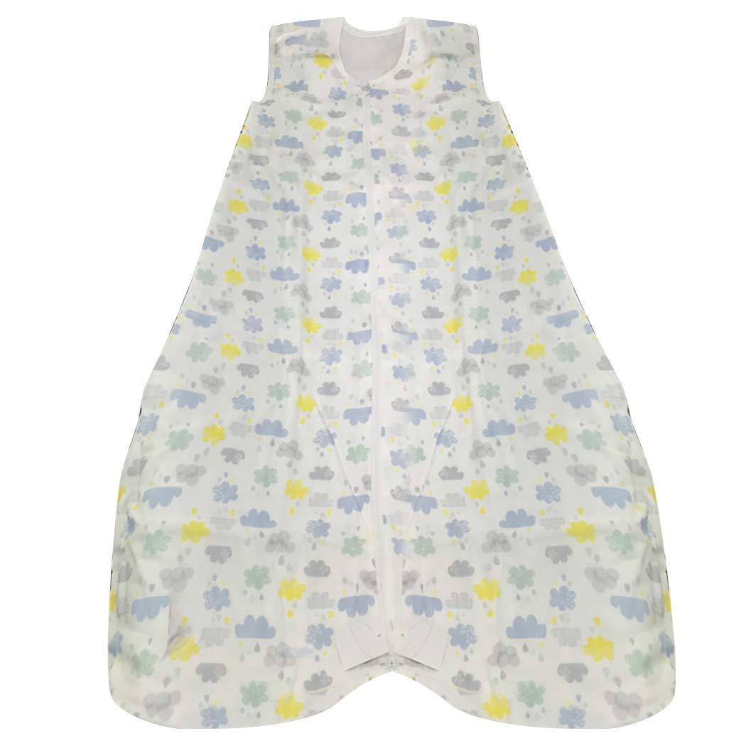 Kapmore Baby Sleeping Bag Four Layer Zippered Swaddle Blanket Sleeping Sack for Baby by Kapmore