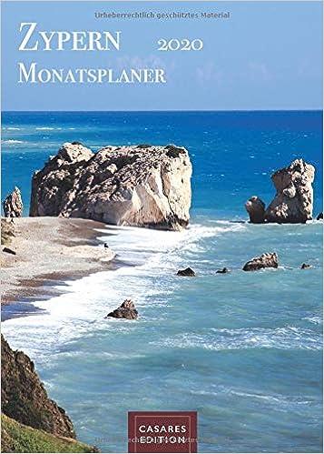 Télécharger Zypern Monatsplaner 2020 30x42cm collection livres EPUB