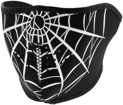 Zanheadgear FACE MASK NEO Half Spiderweb ()