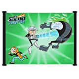 "Danny Phantom Cartoon Fabric Wall Scroll Poster (21"" x 16"") Inches"