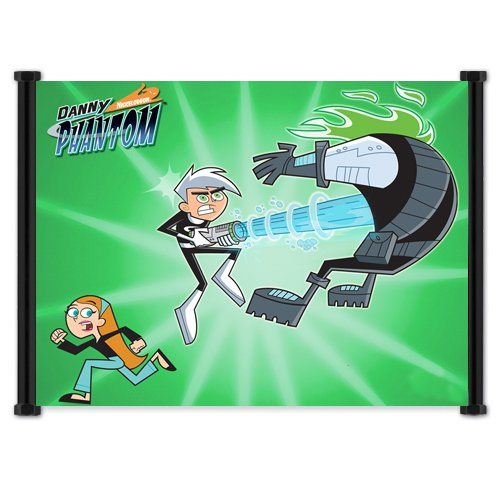 Danny Phantom Cartoon Fabric Wall Scroll Poster