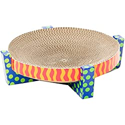 Easy Life Cat Scratcher and Hammock Cat Scratcher Scratch, Snuggle, and Rest by Petstages