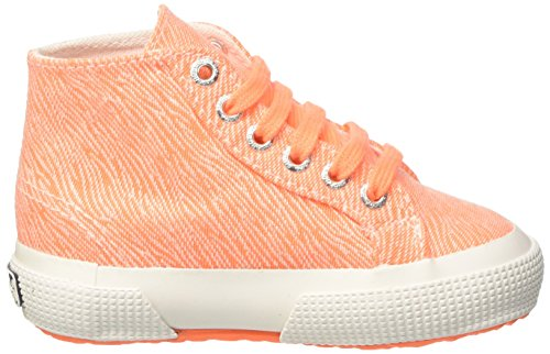 Superga Mädchen 2795-Fabriczebraj High-Top Arancione