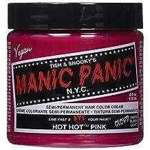 Manic Panic Semi-Permament Haircolor Hot Hot Pink 4oz Jar