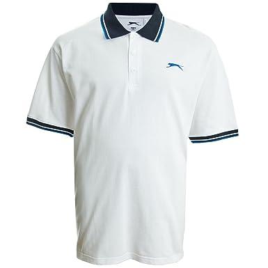 Slazenger - Polo - para Hombre Blanco XXXL: Amazon.es: Ropa y ...