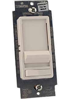 Leviton 6633 PLW SureSlide 600W Preset Incandescent Dimmer Single Pole Or 3 Way