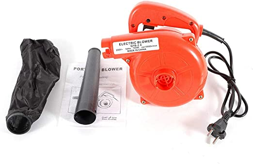 DiLiBee Polvo Soplador de Aire Coche eléctrico Polvo de jardín Aspiradora de computadora Soplador eléctrico Soplador de vacío (700W): Amazon.es: Jardín