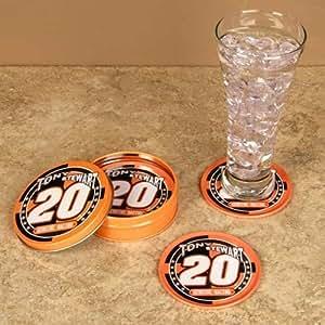 Tony Stewart Tin Coasters 5 Piece Nascar Memorabilia