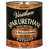 Outdoor Diamond Oil Based Wood Finish Spar Urethane [Set of 2] Size: Quart, Finish: Gloss