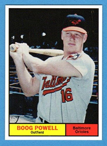 Boog Powell 1961 Topps Style Rookie Baseball Card What If Card