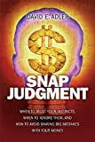 Snap Judgment, David E. Adler, 0137147783