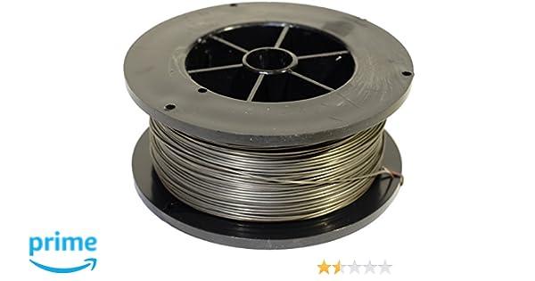 Proweltek-Ine PR1035 - Bobina de hilo de acero inoxidable para soldadura, MIG-MAG, diámetro 0,8 mm, 400 g: Amazon.es: Bricolaje y herramientas