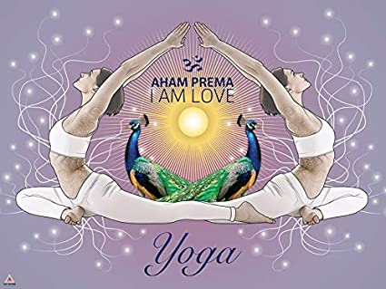 Amazon.com: 777 Tri-Seven Entertainment Yoga Poster I Am ...