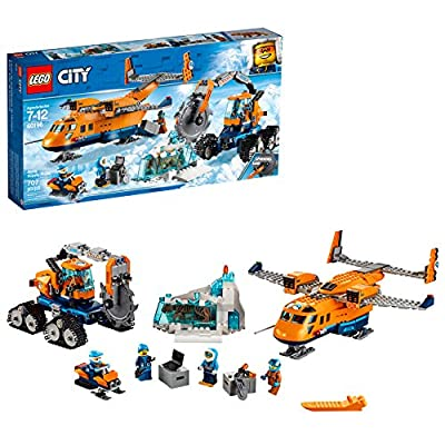 LEGO City Arctic Supply Plane 60196 Building Kit (707 Pieces): Toys & Games