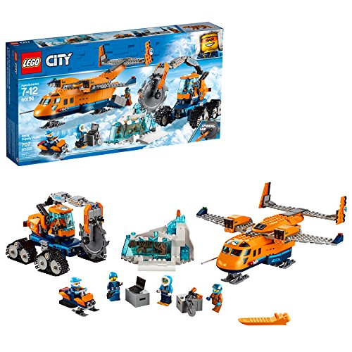 LEGO City Arctic Supply Plane 60196 Building Kit (707 Piece)