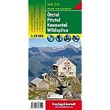 Carte de randonnée : Ötztal, Pitztal, Kaunertal, Wildspitze