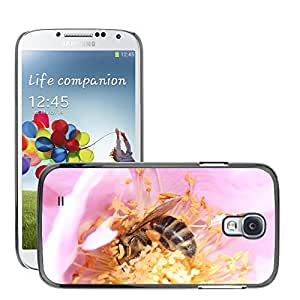 Hot Style Cell Phone PC Hard Case Cover // M00108220 Honeybee Nectar Pollen Insect Flower // Samsung Galaxy S4 S IV SIV i9500