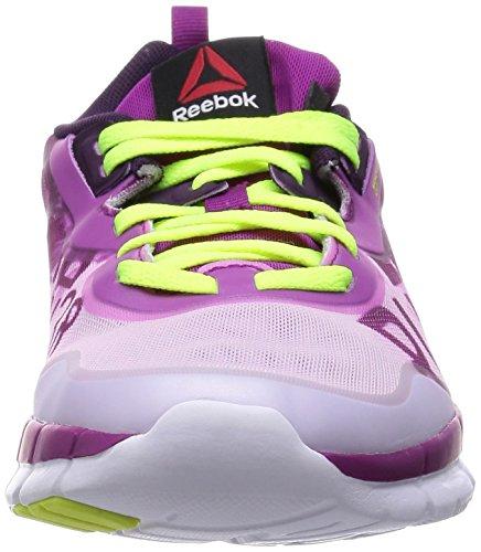 Reebok ZQuick Soul GP Zapatos corrientes de las mujeres Fuchsia