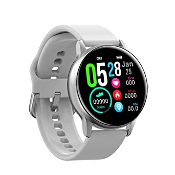 Relojes Inteligentes Smart Watch Round Touch Screen ...