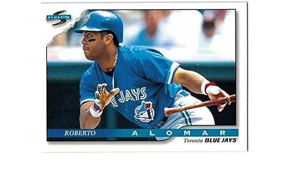 Amazoncom 1996 Score Toronto Blue Jays Team Set With Roberto