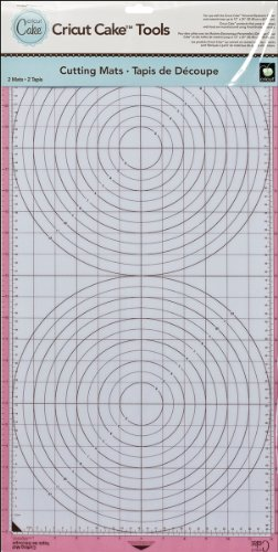 Cricut Cake 12-Inch-by-24-Inch Cutting Mat, 2 Mats
