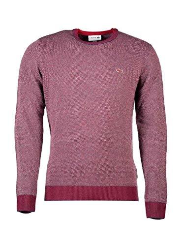 Garnet Rouge Men Ah0434 Sweater Lacoste For fqwWECXxU