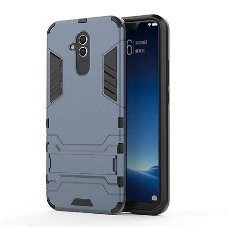 Huawei Mate 20 Lite Funda, MHHQ 2in1 Armadura Combinación Heavy ...