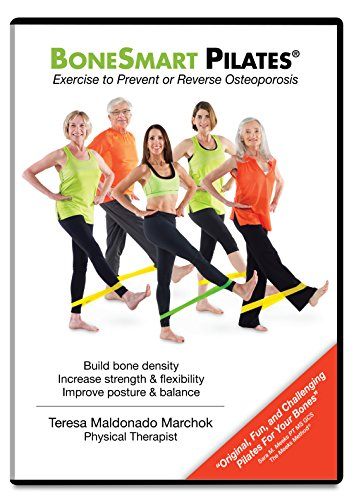 BoneSmart Pilates DVD: Exercise to Prevent or Reverse Osteoporosis-Improve Posture, Build Bone, Age Strong (Bone Foods Density)