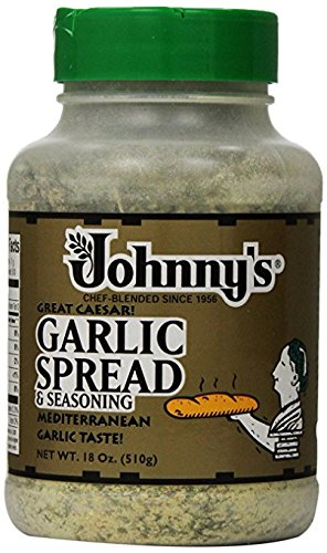 Johnny's Garlic Spread & Seasoning, 18 Ounce, 2 Count by Johnny's