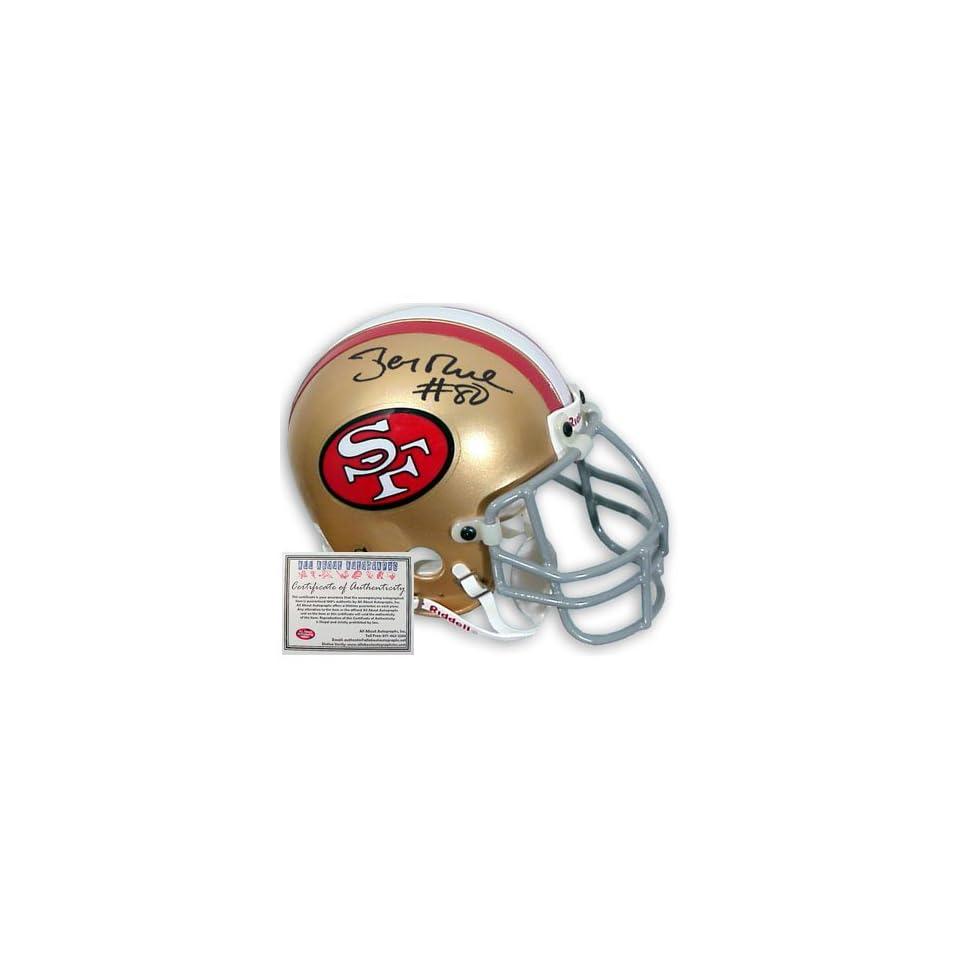 Jerry Rice Autographed Full Size Proline 49ers Helmet