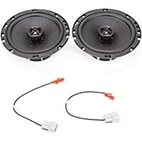 1992-1996 Ford Bronco (Full Size) Front Door 6.5 320 Watt Performance Replacement Upgrade Speakers by Skar Audio